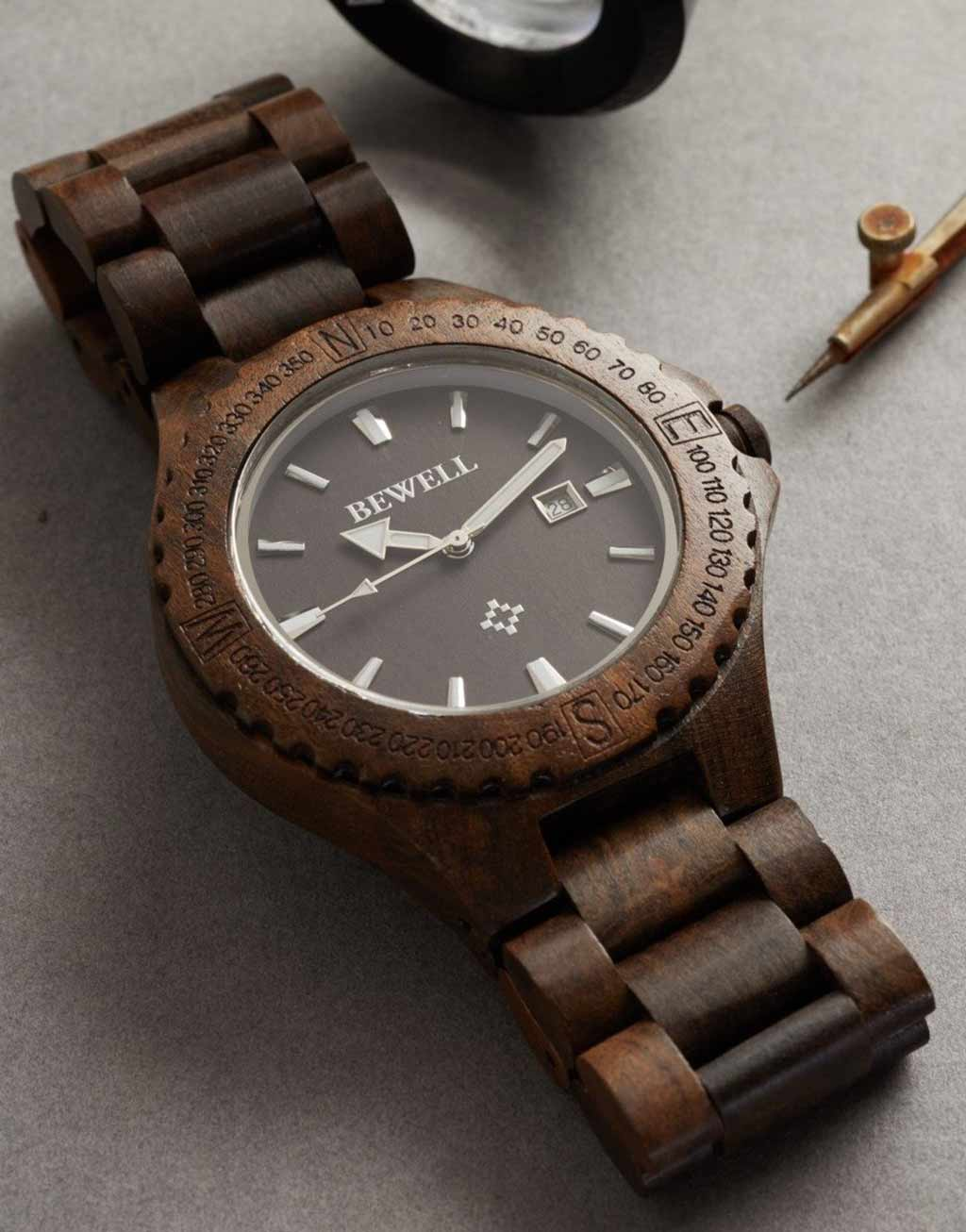 bewell wooden watches 3