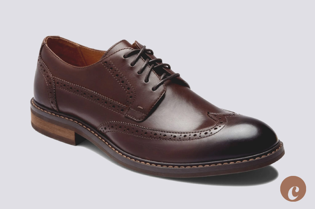 bruno oxford brown leather vionic