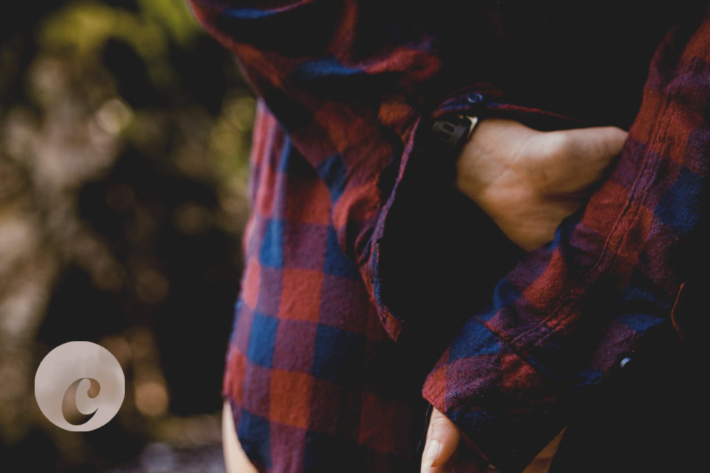 flannel shirt winter style